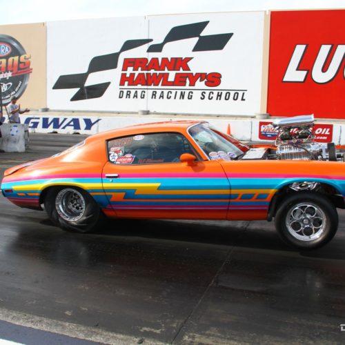 Auto Club Dragway muscle car anti-graffiti